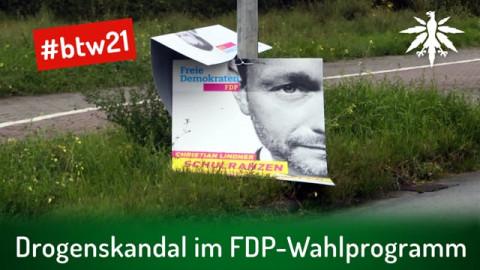 Drogenskandal im FDP-Wahlprogramm | DHV-News # 294