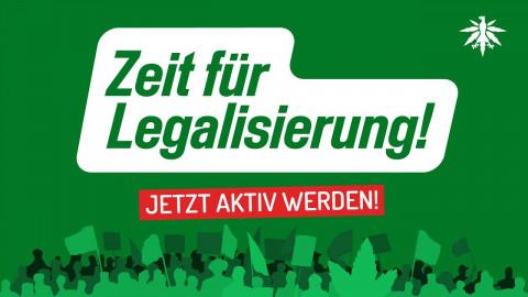Zeit für Legalisierung - wenn du dabei bist!
