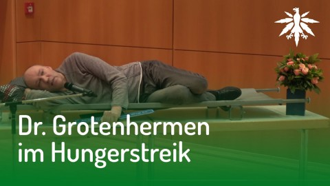 Dr. Grotenhermen im Hungerstreik | DHV News #124