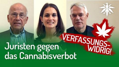 Juristen gegen das Cannabisverbot