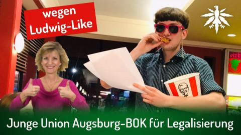 Junge Union Augsburg-BOK für Legalisierung | DHV-News # 303