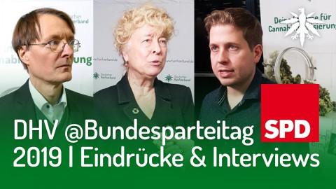 DHV @Bundesparteitag SPD 2019 | Eindrücke & Interviews