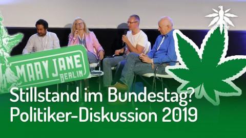 Stillstand im Bundestag?   Politiker-Diskussion auf der Mary Jane Berlin 2019