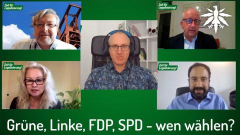 Grüne, Linke, FDP, SPD - wen wählen? Diskussionsrunde
