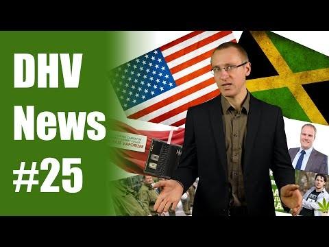 Jamaika entkriminalisiert   Amerika legalisiert   DHV News #25