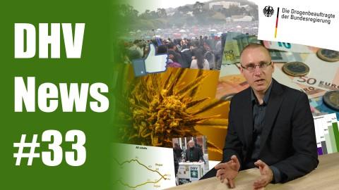 Wirtschaft ist für Legalisierung | mehr Drogentote | DHV News #33