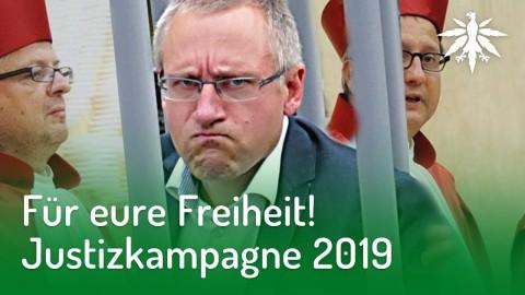 Für eure FREIHEIT! Justizkampagne 2019