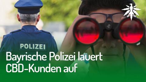 Bayrische Polizei lauert CBD-Kunden auf | DHV-News #239