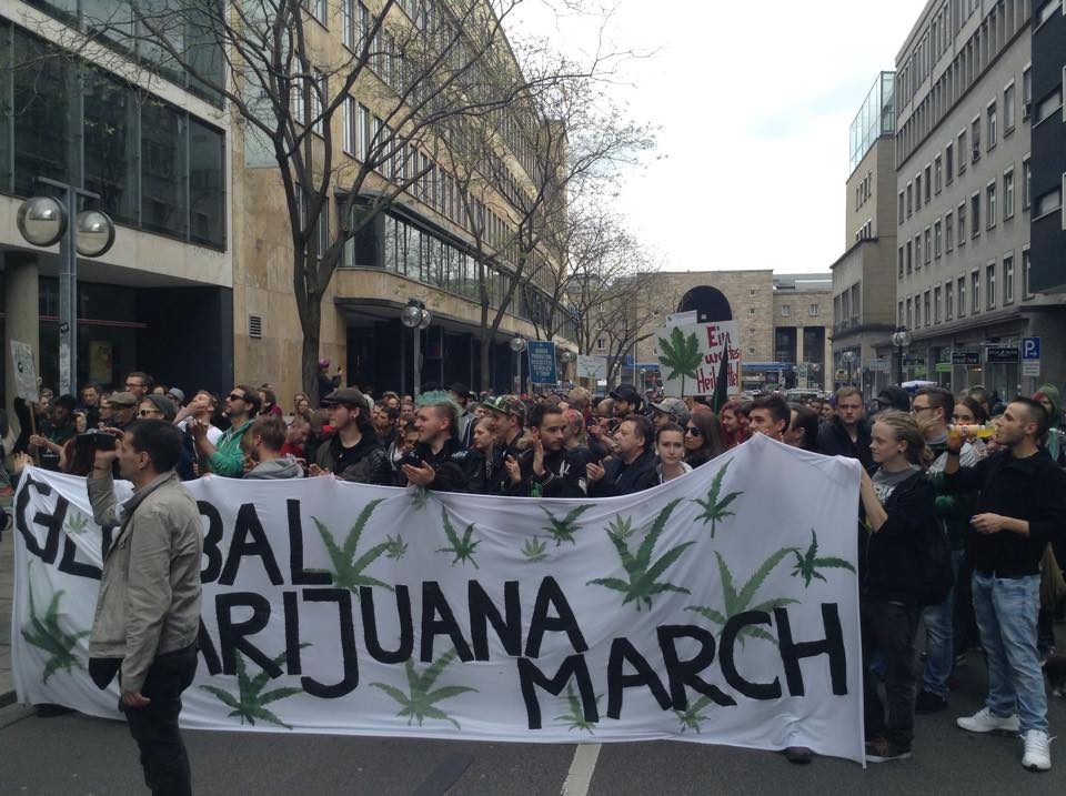 Over 7000 Demonstrated At Global Marijuana Marches In Germany