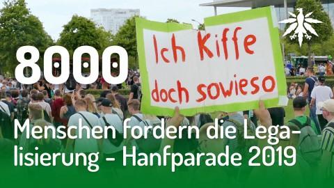 8000 Menschen fordern die Legalisierung - Hanfparade 2019 | DHV-News #214
