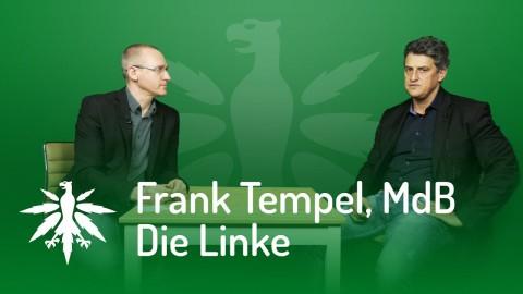 "Frank Tempel: neuer Linken-Antrag ""Entkriminalisierung"""
