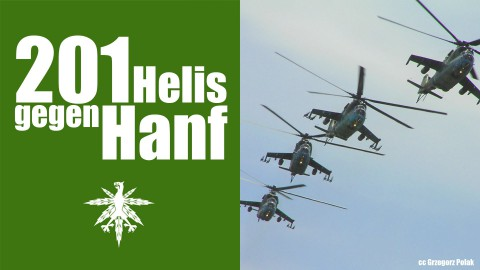 NRW: 201 Hubschraubereinsätze gegen Hanf | DHV News #91