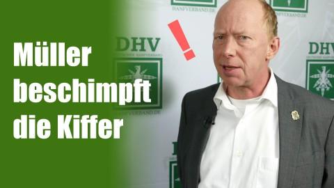 Richter Müller beschimpft die Kiffer