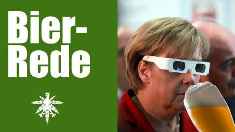 Bier-Rede: Merkel feiert Verbraucherschutz bei Genussmitteln | DHV News #78
