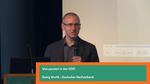 Was ist los in den USA? Georg Wurth - Drogenpolitischer Kongress Hamburg 2016
