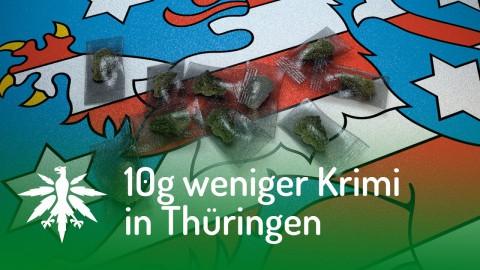 Zehn Gramm weniger Krimi in Thüringen | DHV News #107