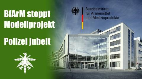 BfArM lehnt Berliner Modellprojekt ab - Polizei freut sich | DHV News #53