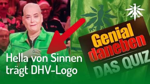 Hella von Sinnen trägt DHV-Logo | DHV-News #229