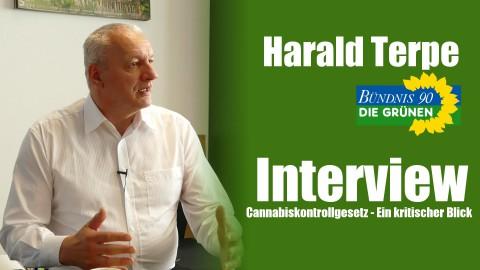 Harald Terpe (Die Grünen) im Interview | Cannabiskontrollgesetz - Ein kritischer Blick