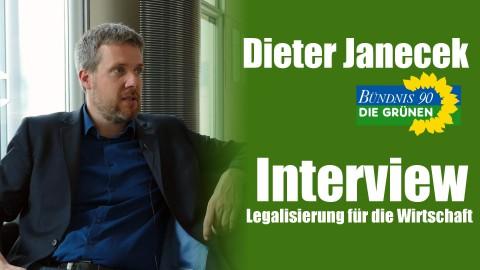 Dieter Janecek (Die Grünen) im Interview | Warum die Legalisierung gut für die Wirtschaft ist