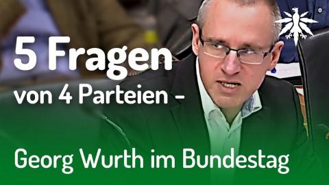 5 Fragen von 4 Parteien - Georg Wurth zu Cannabis als Medizin 2019