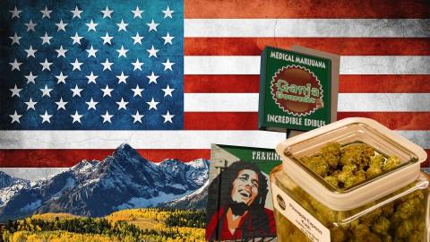 So kauft man Cannabis in einer amerikanischen Dispensary-Ganja Gourmet | DHV USA Tour 2015 Part 1/10